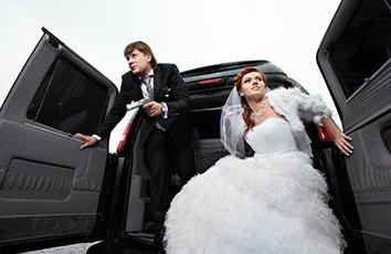 Weddings minibus hire